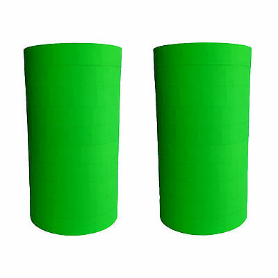 1115 Green Labels For Monarch Two Line Price Gun 2 Sleeves Made In Usa