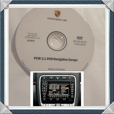 PORSCHE  2015 PCM 2.1 DVD Navigation Europe&Germany