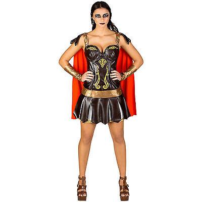 Frauenkostüm sexy Gladiatorin Römerin Kostüm Kriegerin Antike Kämpferin - Kampf Kostüm