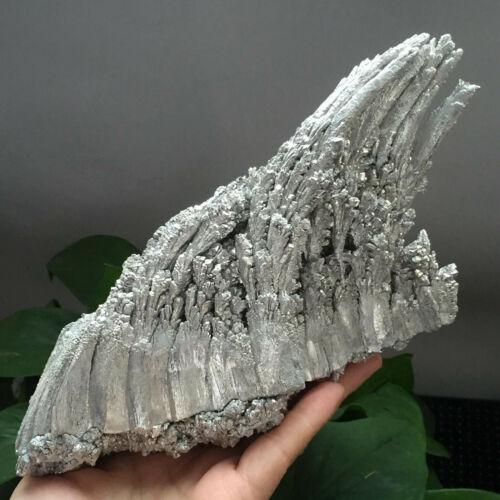 570g Rare Magnesium Ore Wave Shape Cluster Mineral Specimen a017