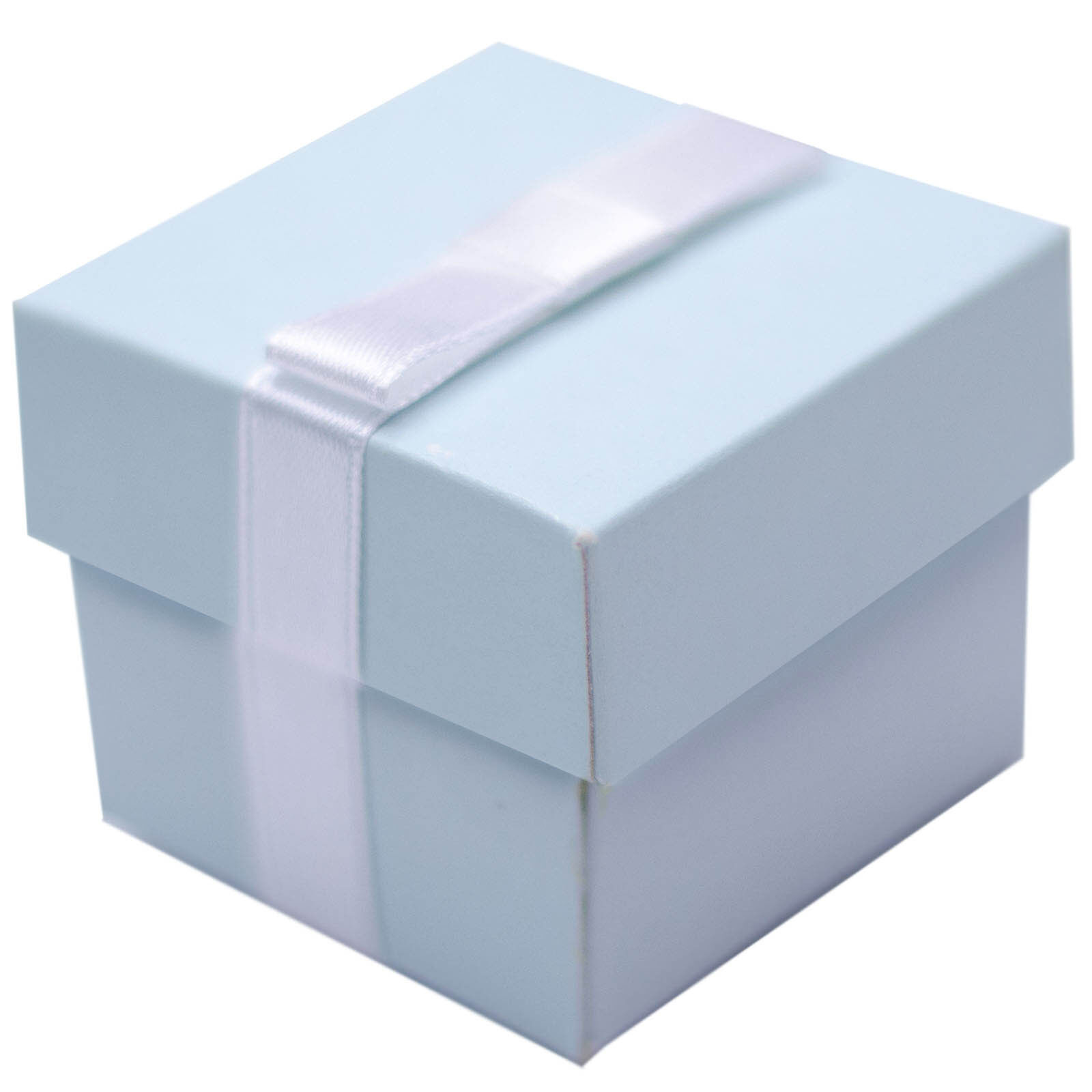 Favour Boxes Baby Blue : Elegant baby blue christening wedding party gift favour