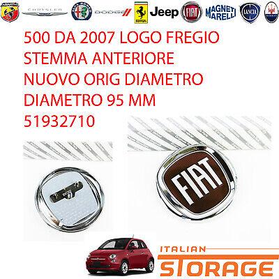 500 De 2007 Logo Friso Armas Delantero Nuevo Orig Diámetro 95MM 51932710