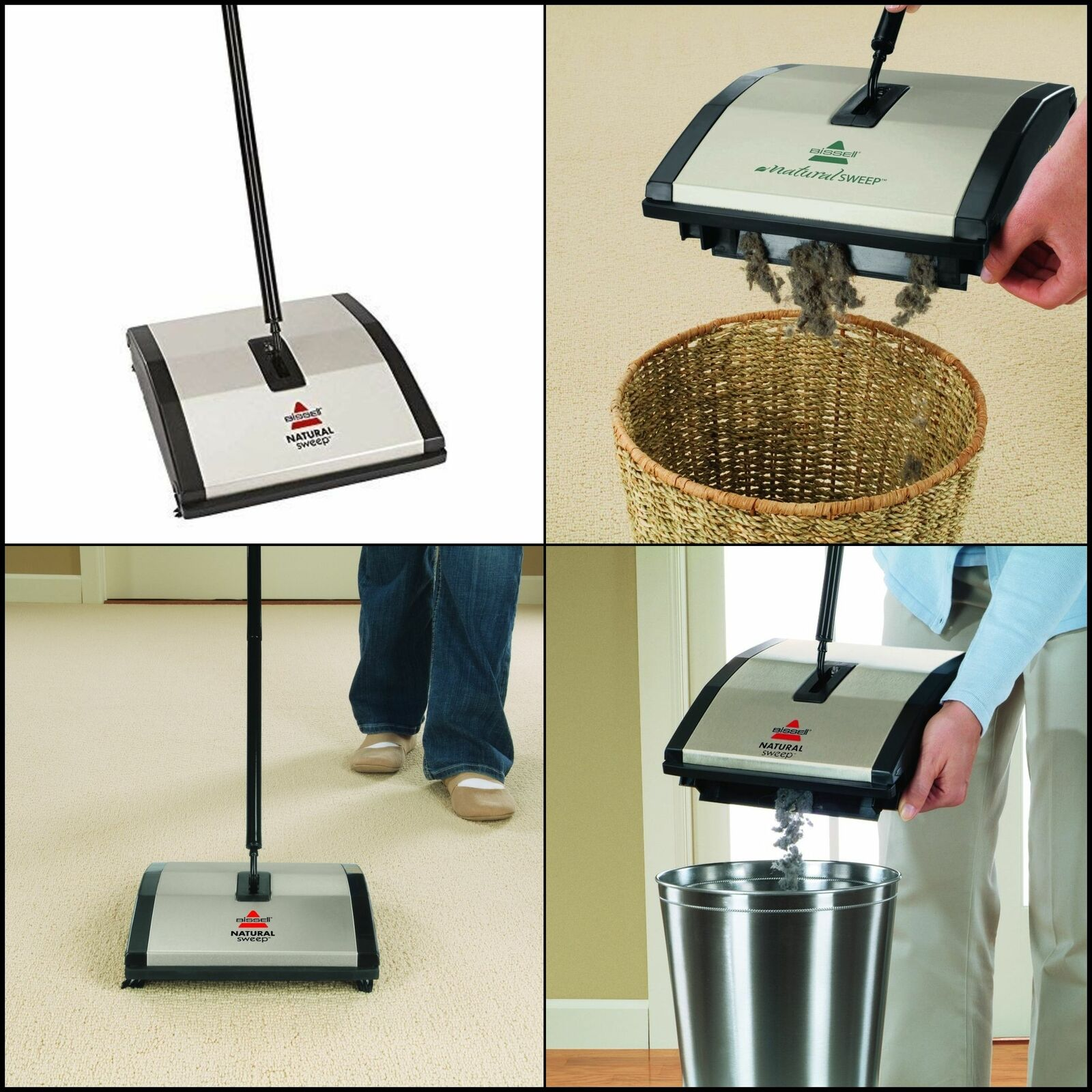 bissell fuller brush commercial non electric carpet