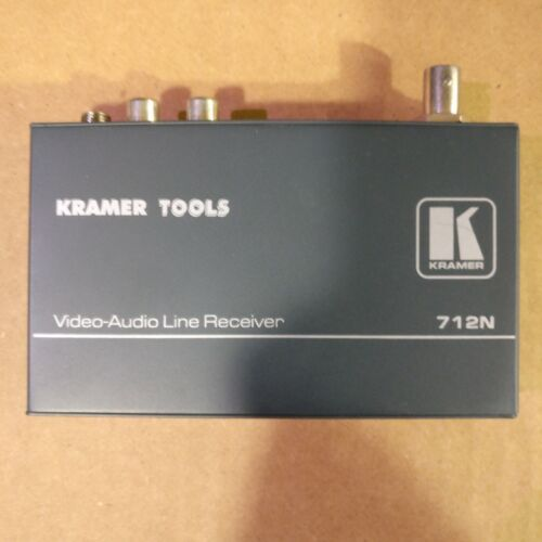 Kramer 712N Composite Video and Stereo Audio Over Twisted Pair Receiver (0007)