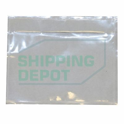 50 Clear Packing List Envelopes Pouch 4.5x5.5 2.5mil 4.5x5.5 Secure Seal