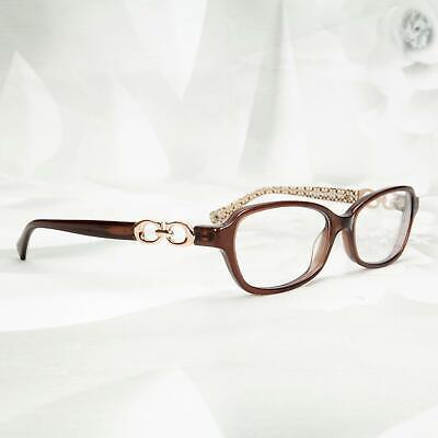 Coach Women's Vanessa Designer Rx Glasses Eyewear Brown/Sold For Frame (Coach Glasses For Women)
