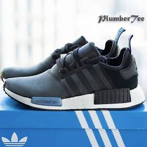 M US8 (W US9)Brand New Adidas Original NMD R1 Textile Olive Black Melbourne CBD Melbourne City Preview