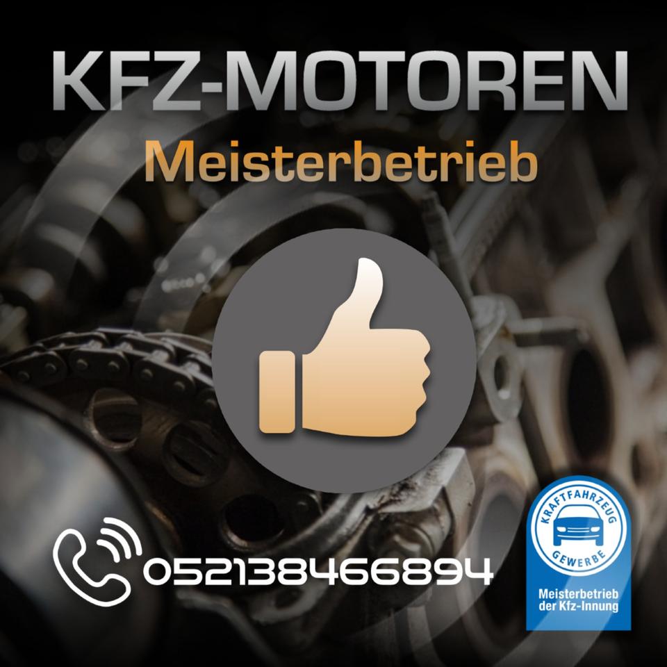 Motorinstandsetzung BMW X3 X4 X5 X6 306 PS N55B30A in Bielefeld