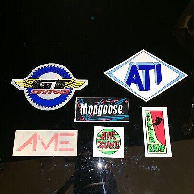 GT Wings Round Dyno Vintage NOS Genuine Decal//Sticker BMX Old School 1980
