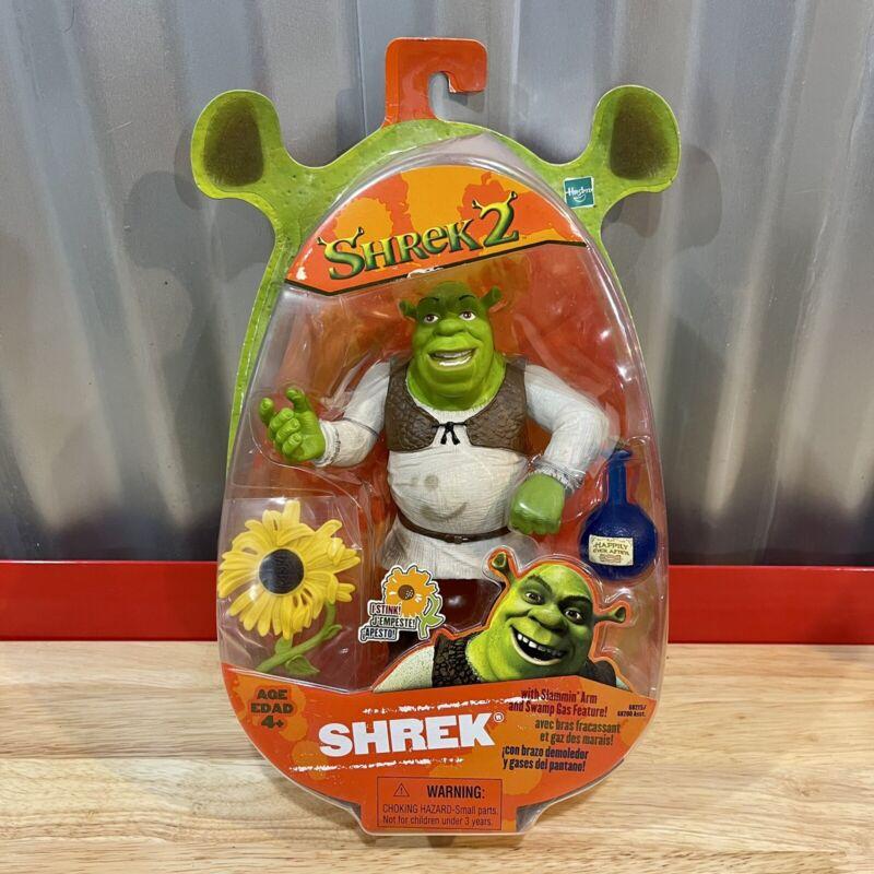 NEW Shrek 2 Ogre Action Figure Toy Hasbro 2004 READ