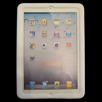 weißes Silikon Softcover für Apple iPad mini 1, 2, 3, Händler aus Deutschland (Ipad Soft-cover)
