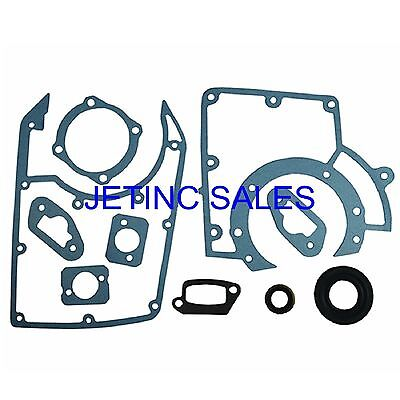 Gasket Set Stihl Ts760 075 076 Incl Oil Seals