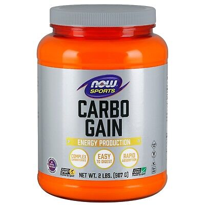 NOW Foods Carbo Gain, 60 g, 2 lb Powder