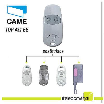Telecomando Came TOP432EE radiocomando originale ex TOP432 NA 433,92 Mhz 2 tasti