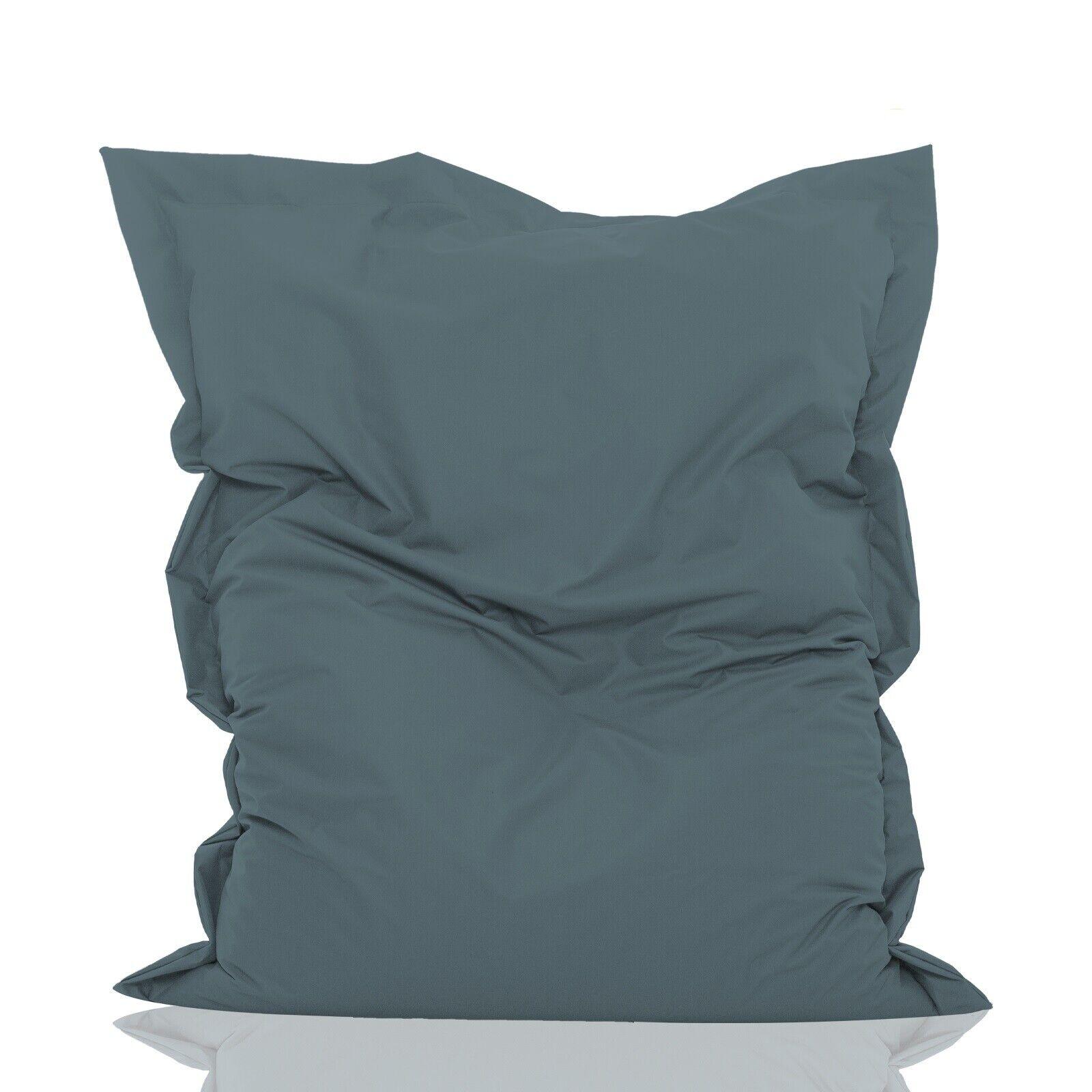 Hochwertiger Sitzsack Rechteck - Indoor & Outdoor - mit Styroporkugeln Füllung