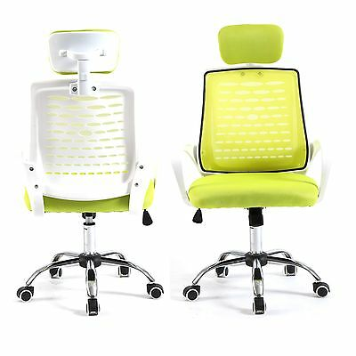 Home Drafting Computer Office Desk Commercial Task Chair Armrest Chair Grnwh