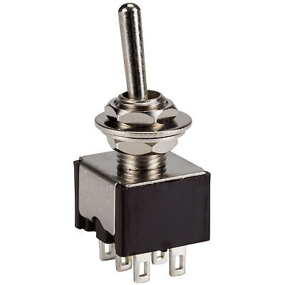 Onon Dpdt Mini Toggle Switch 5 Amp 125 Vac.