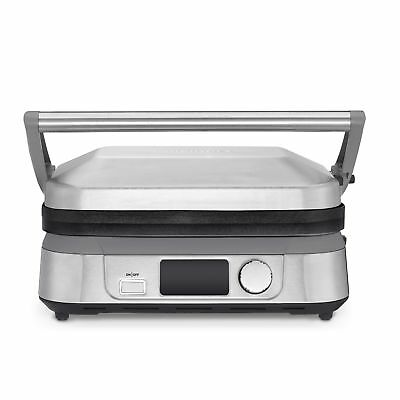 Used, Cuisinart Brushed Stainless Steel Griddler Five for sale  Springfield