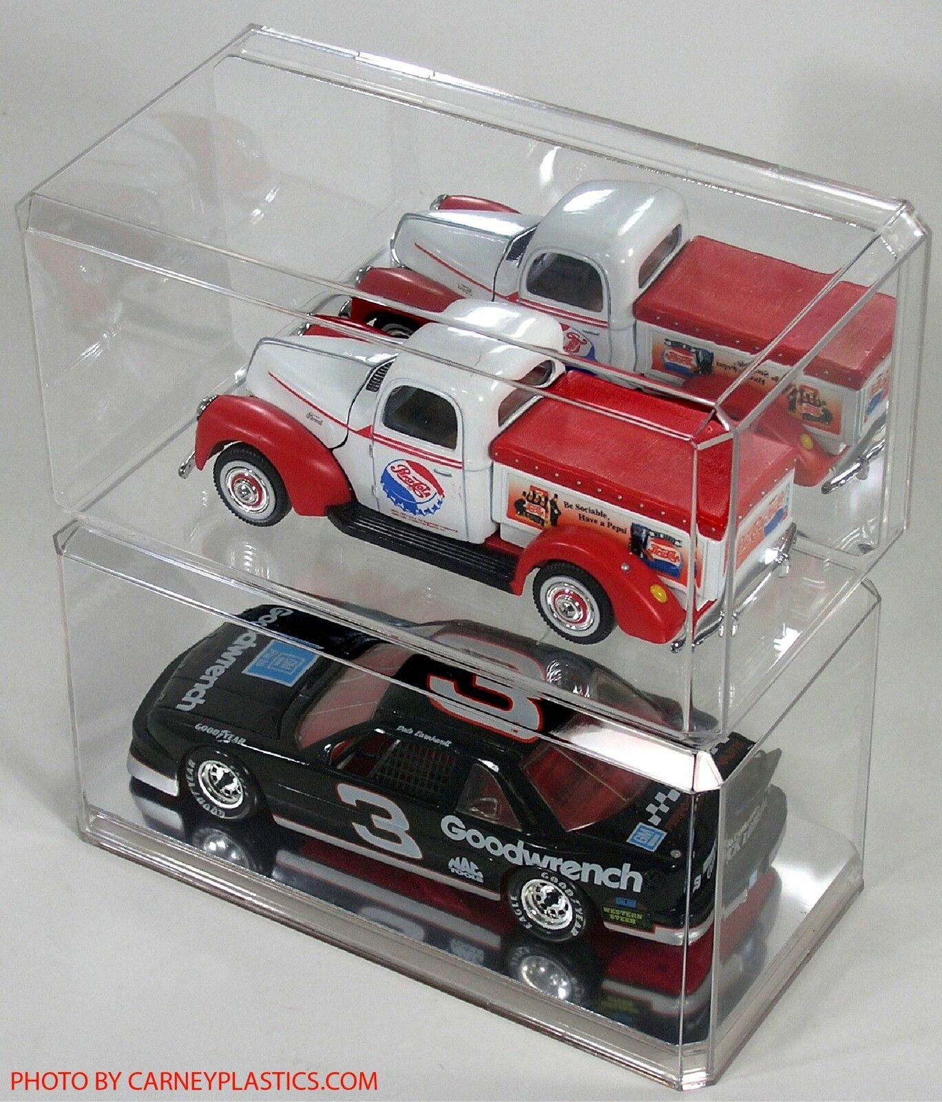 PLASTIC MODEL CAR Or Diecast Display Case 1:18 Diecast
