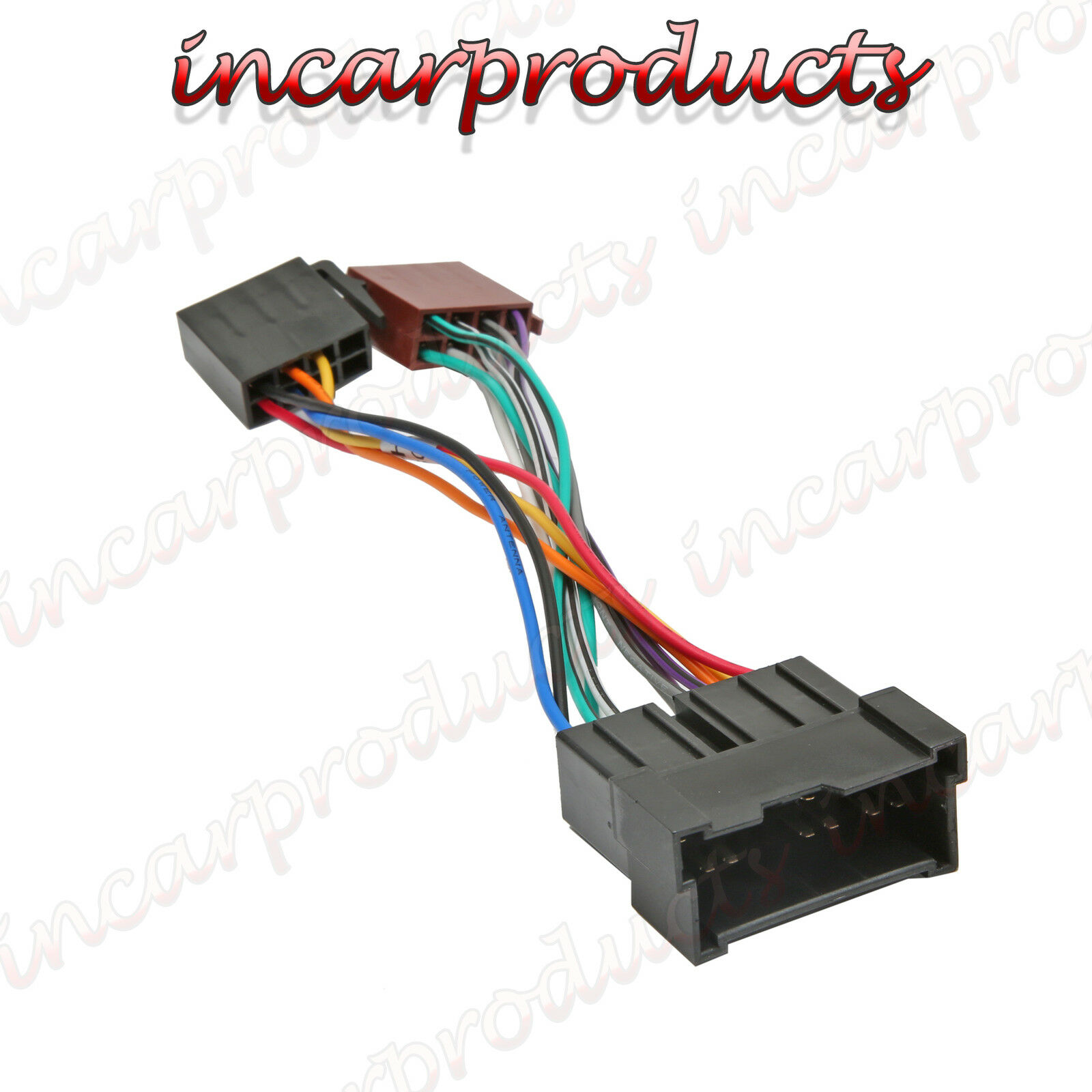 Car Stereo Radio Iso Wiring Harness Adaptor Loom Hy