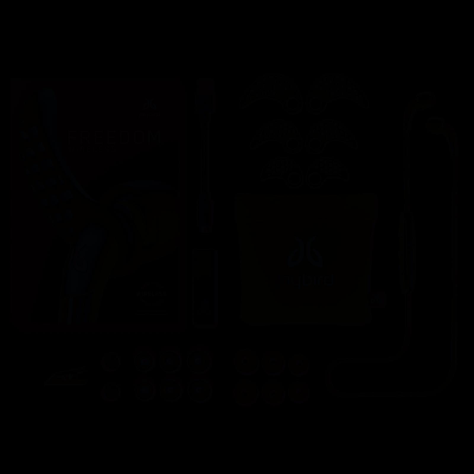 Jaybird Freedom F5 In-Ear Wireless Headphones Carbon Black