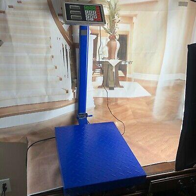 300kg Lcd Digital Personal Floor Postal Platform Scale Tcs System Electronic