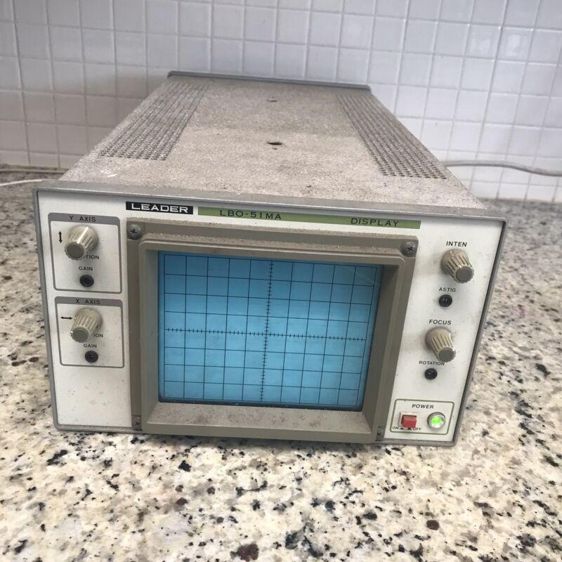 Leader Electronics LBO-51MA Display . Parts Or Restoration