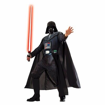 NEW Disney Star Wars DARTH VADER Rubies Deluxe Halloween Costume Adult S, M, L ()