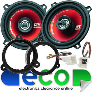 Renault Megane MK3 MTX 13cm 400 Watts 2 Way Front Door Car Speakers Upgrade Kit