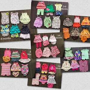 Girls 3-6 month summer outfits