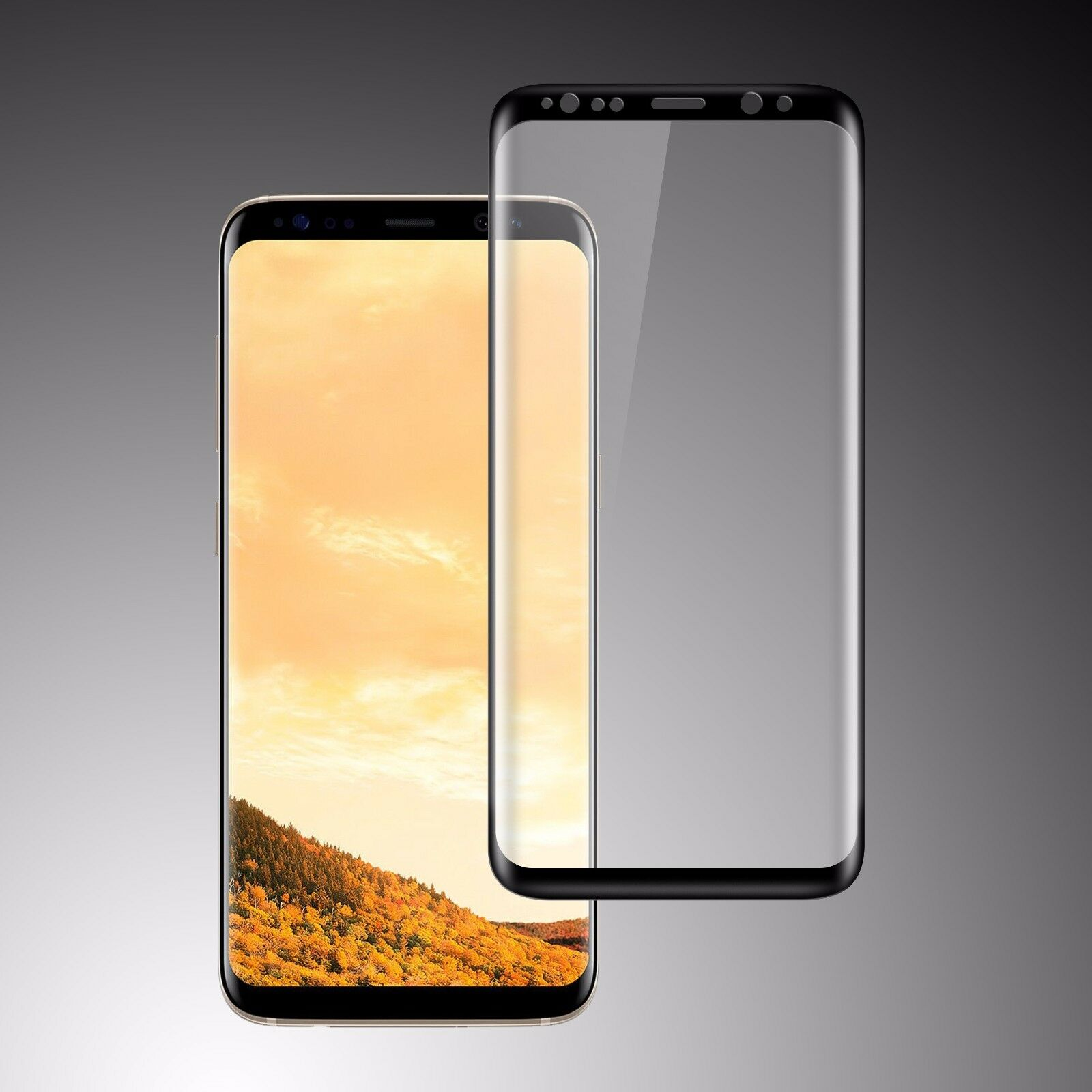HD Full Cover Tempered Glass Screen Protector for Samsung Galaxy S8/S8+ Note 8