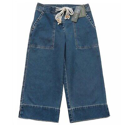 Simply Vera Vera Wang 1488 Stretch Cropped Denim Capri Jeans Womens Plus 24W