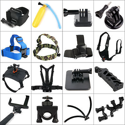 Range of Accessories for Sony Rollei TecTecTec Excelvan DBPOWER Action Cameras