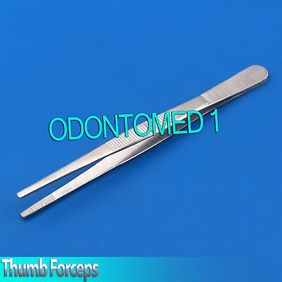 Odm Thumb Dressing Forceps 5 Serrated Stainless Steel Surgical