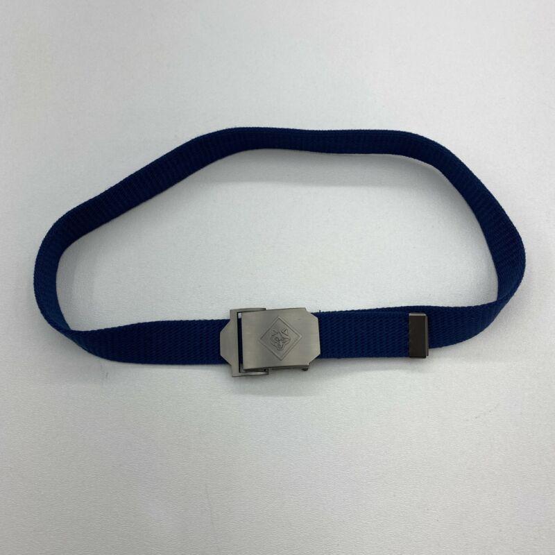 "BSA Cub Boys Scout Belt Blue SM/M 30"""