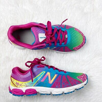 Girls New Balance Running Course Sneaker 3.5 Y Rainbow Pink