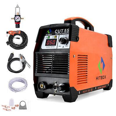Digtal Cut55 Air Plasma Cutter 110v 220v Dc Inverter Pilot Arc Cutting Machine