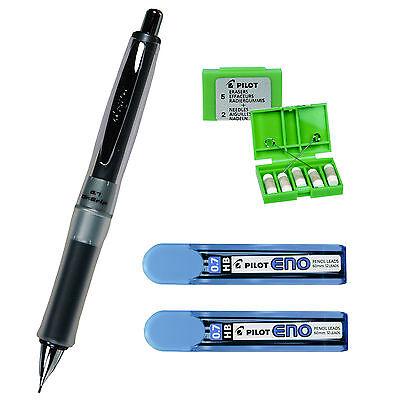 Pilot Dr. Grip Center Of Gravity Mechanical Pencil 0.7mm 4-piece Set