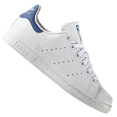 adidas Originals Stan Smith S74778 Sneaker Blau/Weiß Turnschuhe Damen-Schuhe (Adidas Stan Smith Originals)