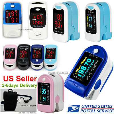 Fingertip Pulse Oximeter Blood Oxygen Monitor Heart Rate Spo2 Pr Meter Sensorce