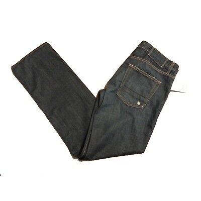 VINCE Men Jeans Size W32 L32 Straight 100% Cotton Made in USA Navy BLue