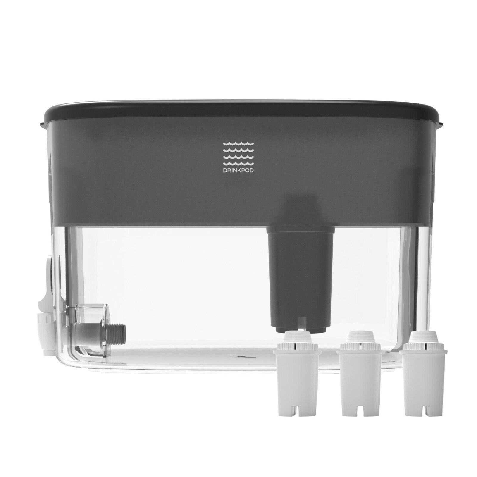 Alkaline Water Dispenser 2.4 Gallons Includes 3 Bonus Alkali