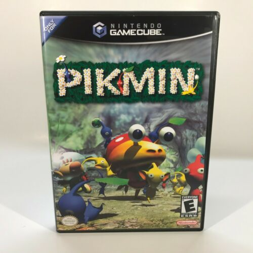 GameCube Replacement Case - Case Only NO GAME - Pikmin