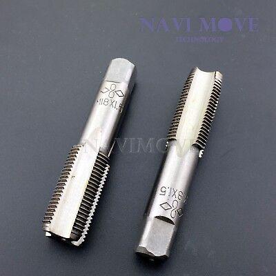 New Hss 18mmx1.5 Metric Taper Plug Tap Right Hand Thread M18x1.5mm Pitch Usa