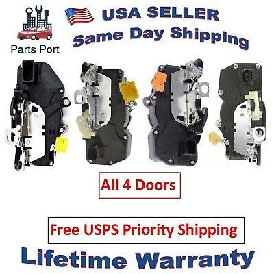 Set of 4 Power Door Lock Actuators for all 4 Doors Front & Rear, Left & Right