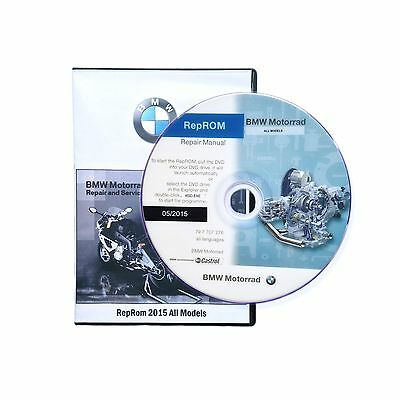 BMW MOTORCYCLES (2011-2015) K1600GT/K1600GTL SERVICE REPAIR SHOP MANUAL ON DVD ()