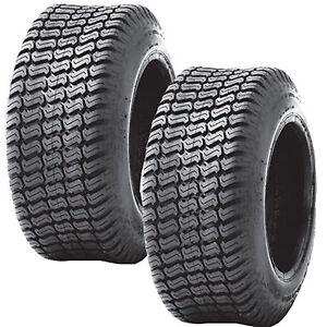 2) Turf Lawn Mower 24x12.00-12 Tires 24x12x12 24x12-12 P332 4PR