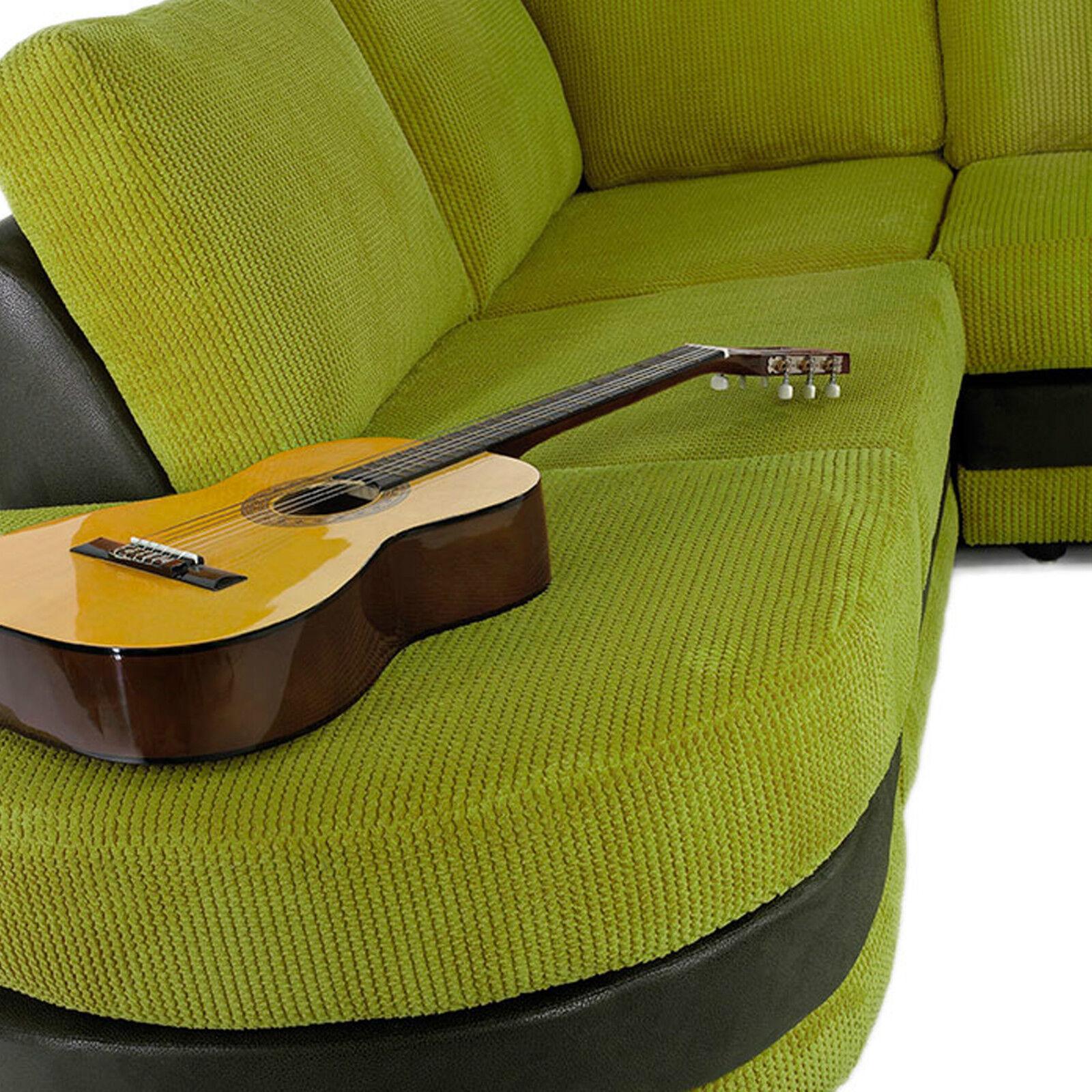 Soft Velvet Wave Ripple Cord Upholstery Sofa Cushion