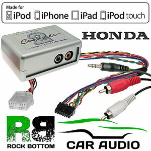 CTVHOX001 Honda Civic 2001 - 2013 Car Aux In MP3 iPhone iPod Interface Adaptor