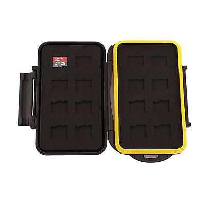 JCC Memory Card Mini Case MC-MSD16 Speicherkarten Schutzbox 16x MicroSDHC Cards Memory Card Case